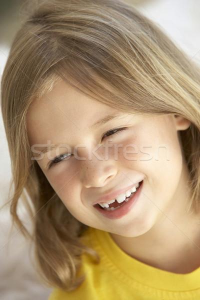 Zdjęcia stock: Portret · dziewczyna · uśmiechnięty · dzieci · osoby · szczęścia