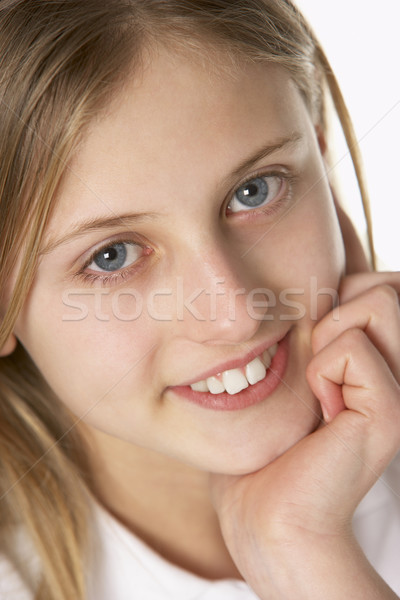 Portrait Of Pre-Teen Girl Smiling Stock photo © monkey_business