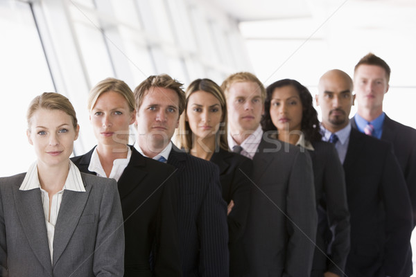 Group of office workers lined up Stock photo © monkey_business