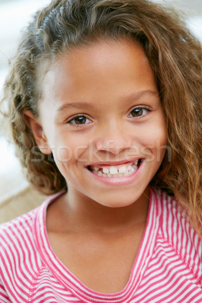 Head And Shoulders Portrait Of Young Girl Stock photo © monkey_business