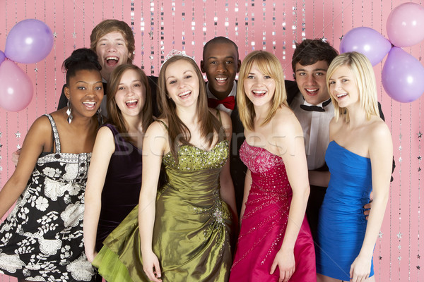 Group Of Teenage Friends Dressed For Prom Stock photo © monkey_business