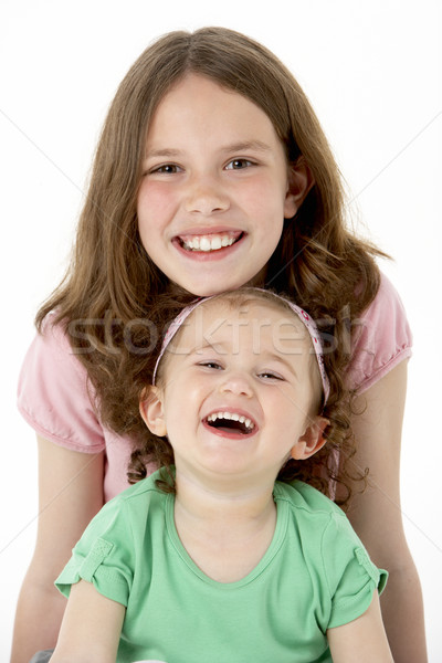 Portrait Of Two Young Girls Stock photo © monkey_business