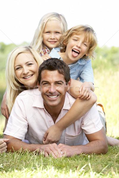 Сток-фото: семьи · улыбка · человека · счастливым