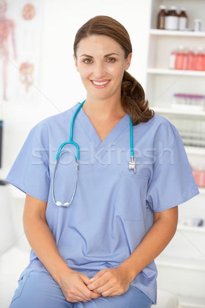 Female hospital doctor Stock photo © monkey_business