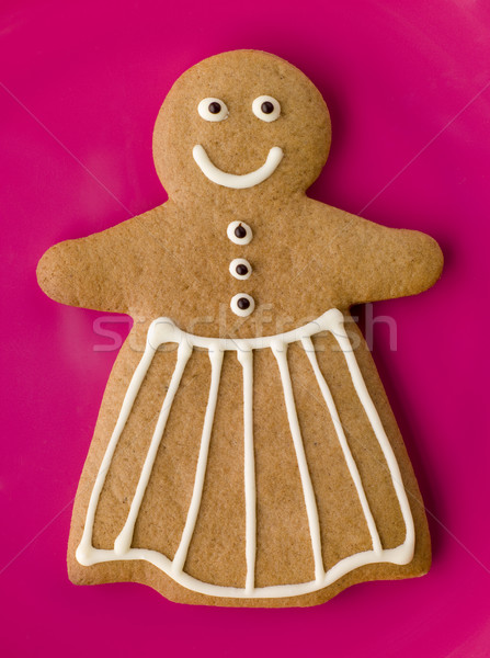 Gingerbread Woman Stock photo © monkey_business