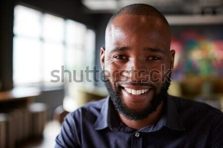 Retrato professor sala de aula menina escolas feliz Foto stock © monkey_business