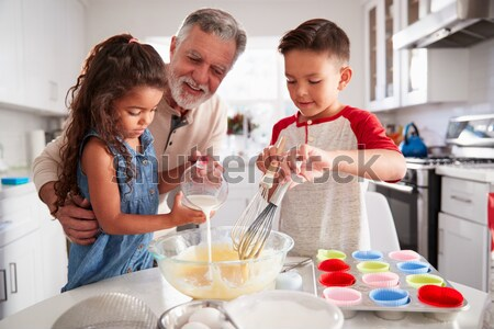 Couple and children playing with toys Stock photo © monkey_business