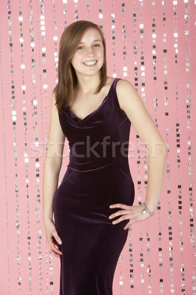 Young Girl Wearing Party Dress Stock photo © monkey_business
