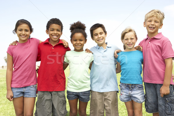 Group Of Children Playing In Park Stock photo © monkey_business