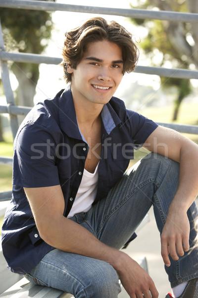 Sessão passos homem feliz adolescente Foto stock © monkey_business