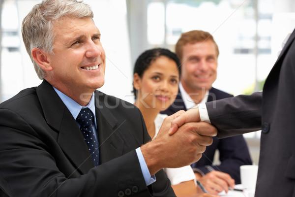 Business people handshake Stock photo © monkey_business