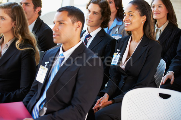 Audience Listening To Presentation At Conference Stock photo © monkey_business