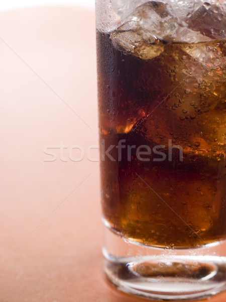 Cam kola çocuklar içmek kabarcıklar Stok fotoğraf © monkey_business