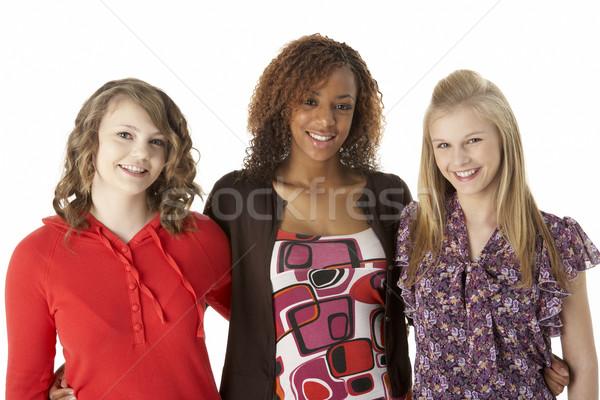 Portrait Of Three Teenage Girls Stock photo © monkey_business