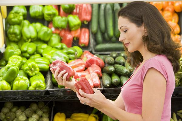 Woman choosing fresh produce Stock photo © monkey_business
