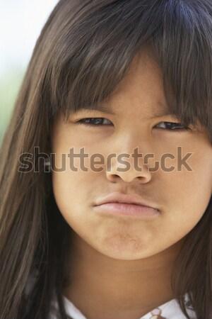 Portrait Of Girl Pouting Stock photo © monkey_business