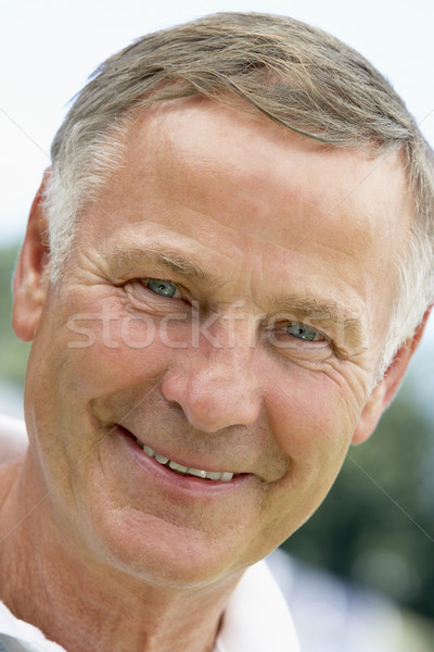 senior,portrait,Woman,Happiness,Seventies,Cheerful,Happy,Smiling Stock photo © monkey_business