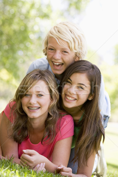Portrait Of Brother And Sisters Stock photo © monkey_business