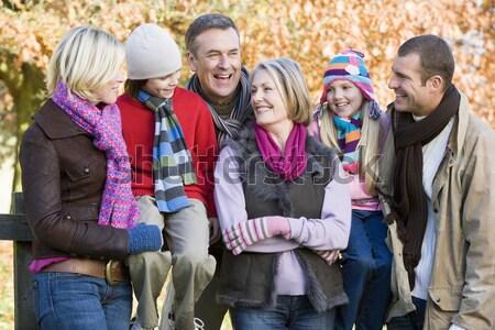 Grupo adolescente amigos paisagem homem Foto stock © monkey_business