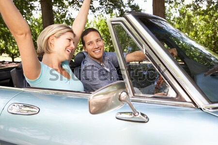 Man And Woman Having Argument After Traffic Accident Stock photo © monkey_business