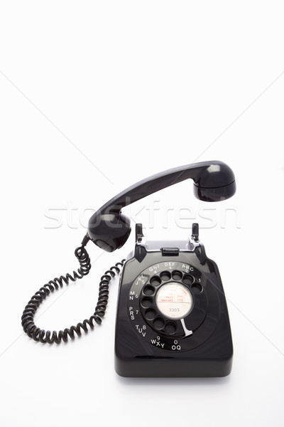 Bellen telefoon retro concept Stockfoto © monkey_business