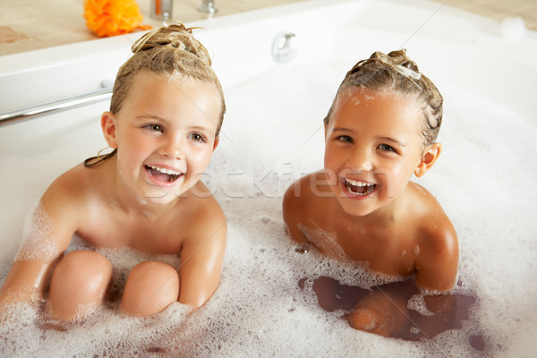 Two Girls Playing In Bath Together Stock photo © monkey_business