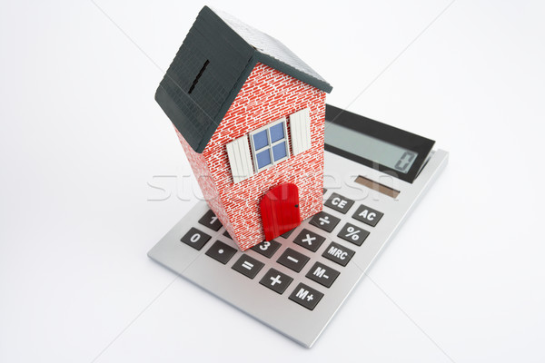 Model house and calculator Stock photo © monkey_business