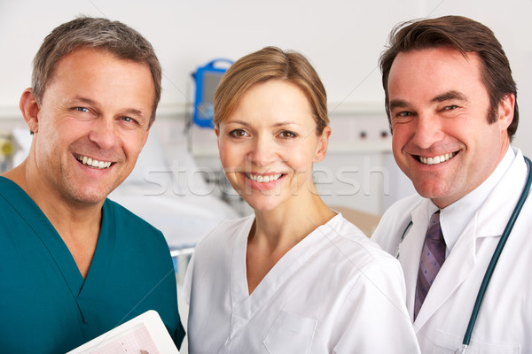 Portrait medical team on hospital ward Stock photo © monkey_business