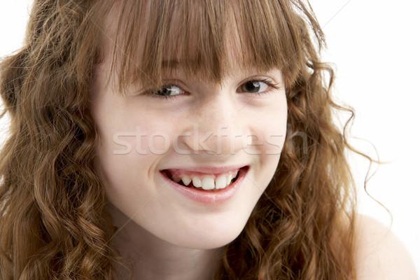 Portrait Of Happy Young Girl Stock photo © monkey_business