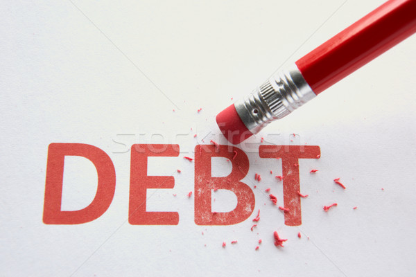 Wiping out debt Stock photo © monkey_business