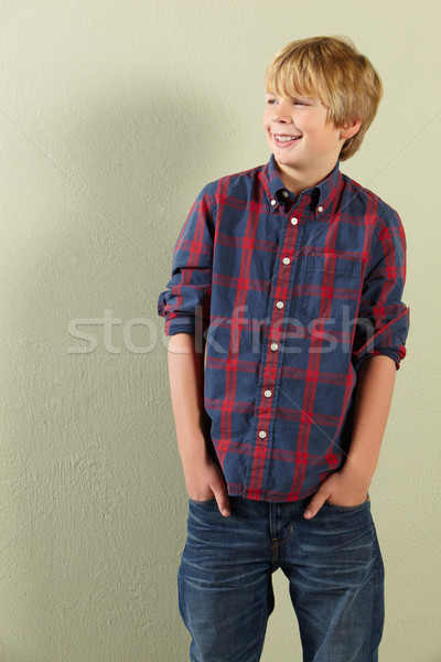 Heureux garçon jeunes souriant Photo stock © monkey_business