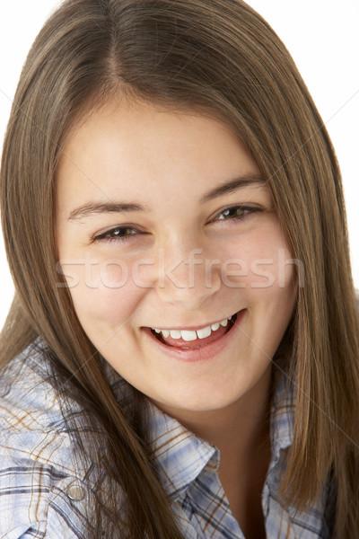 Retrato sonriendo joven feliz color hermosa Foto stock © monkey_business