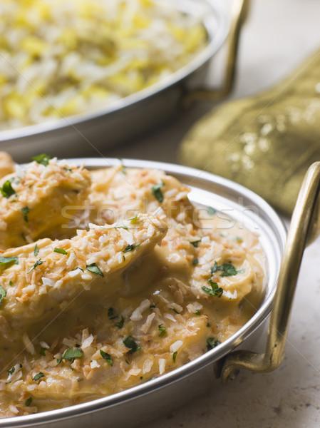 皿 鶏 サイドディッシュ インテリア 野菜 ジャガイモ ストックフォト © monkey_business