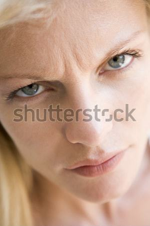 Portrait Of Teenage Girl Looking Upset Stock photo © monkey_business