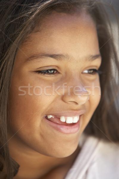Ragazzi ritratti ragazza triste infelice Foto d'archivio © monkey_business
