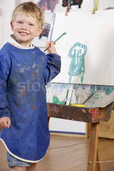 Young Boy Painting Stock photo © monkey_business