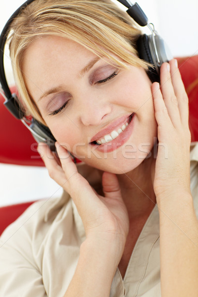 Woman with headphones Stock photo © monkey_business