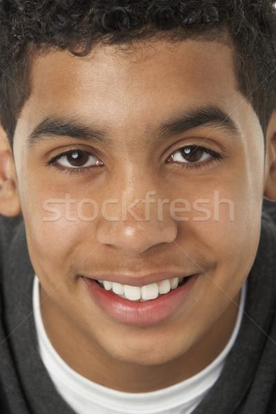 Retrato sorridente feliz criança menino Foto stock © monkey_business