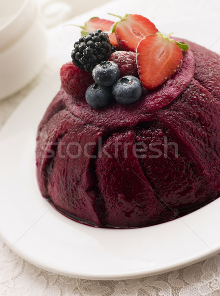 Traditional Summer Pudding Stock photo © monkey_business