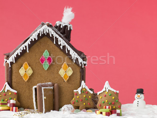 Gingerbread House Stock photo © monkey_business