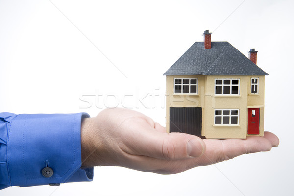 Holding House Stock photo © monkey_business