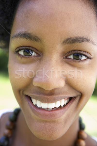 Retrato sonriendo adolescente persona felicidad Foto stock © monkey_business