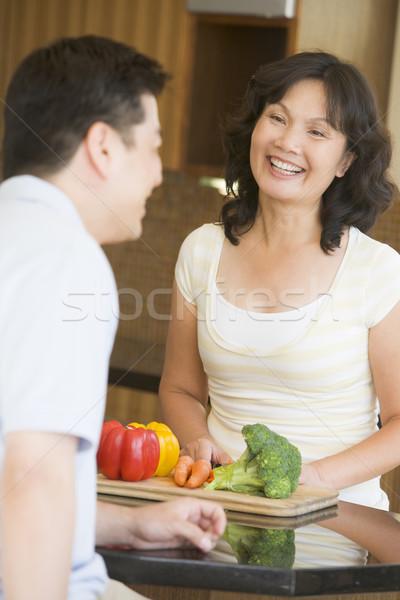Férj feleség együtt férfi boldog pár Stock fotó © monkey_business