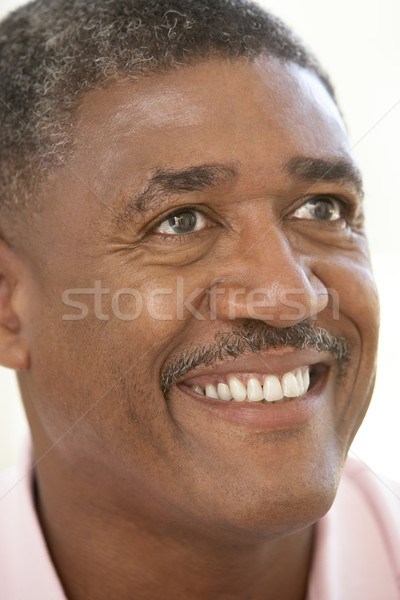 Retrato sonriendo felizmente hombre feliz Foto stock © monkey_business
