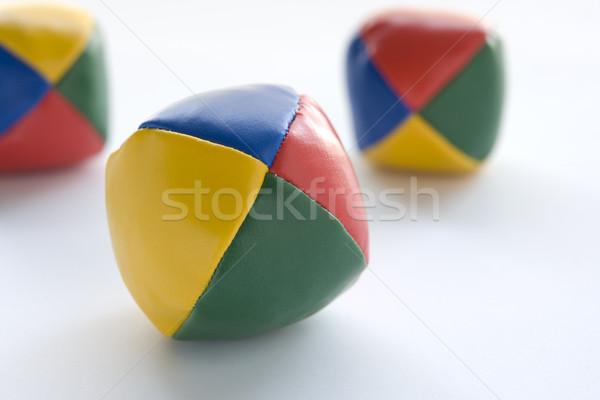 Three Juggling Balls Stock photo © monkey_business