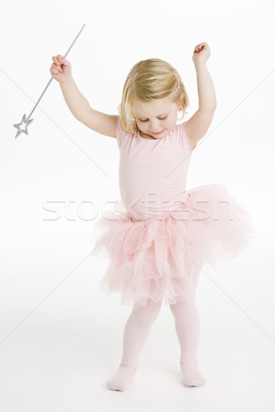 Little Ballerina Holding Wand Stock photo © monkey_business