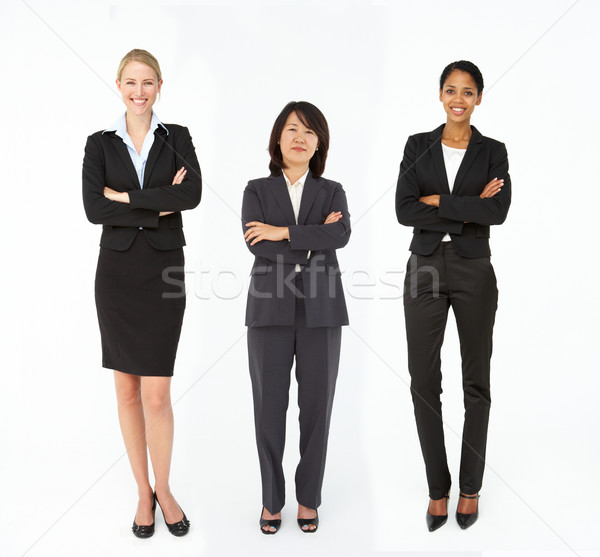 Group of mixed age and race businesswomen Stock photo © monkey_business