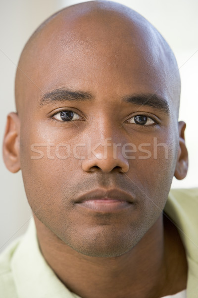 Head shot of man thinking Stock photo © monkey_business