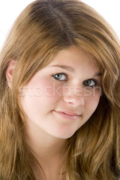 Retrato cor adolescente sorridente bastante Foto stock © monkey_business