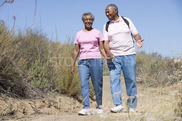 Senior couple on walk Stock photo © monkey_business